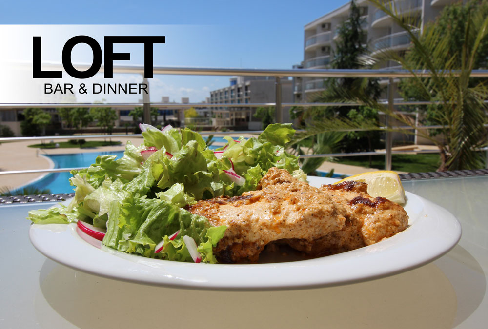 """Ресторант """"LOFT Bar & Dinner"""" е вдъхновен от кулинарни шедьоври"""